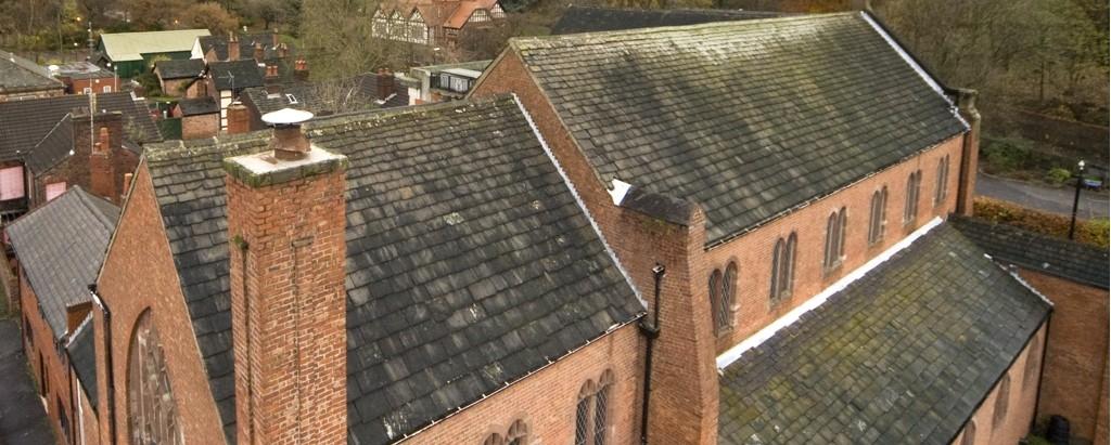 Long Street Methodist Church Roof in 2009 - Copy
