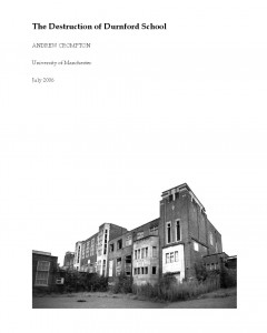 Destruction of Durnford School